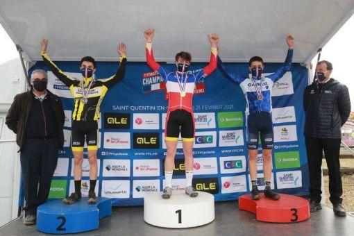 Championnats de France de cyclo-cross Cadets, Juniors et Masters : 7 médailles !