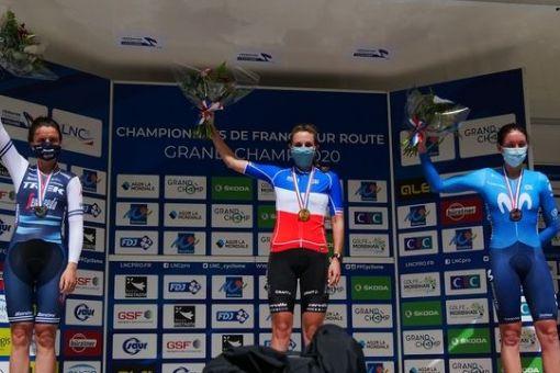 Championnats de France Route : 2 médailles en Or, 1 de Bronze !