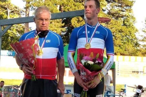 Joseph Berlin-Semon, Champion de France de demi-fond !