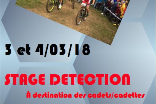 Stage de detection VTT cadets