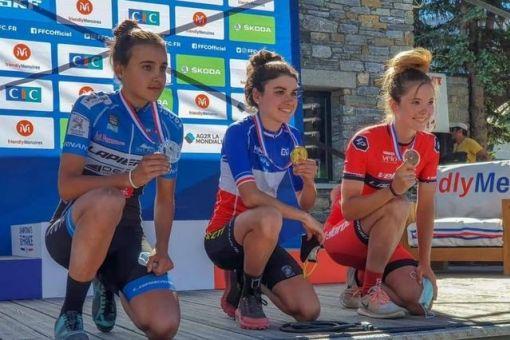 Championnats de France VTT : 5 médailles !