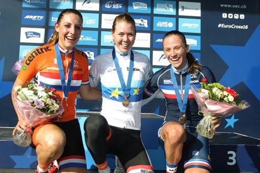 Championnats d'Europe Cyclo-cross : Caroline Mani en Bronze