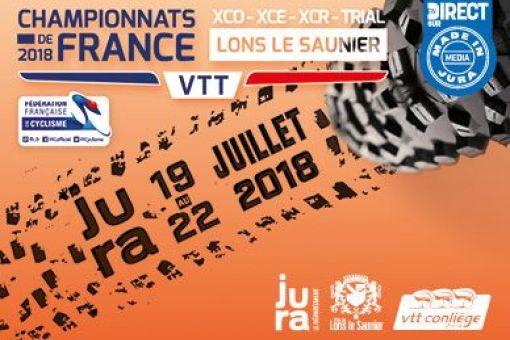Inscriptions Championnat de France XCO, XCE et Trial