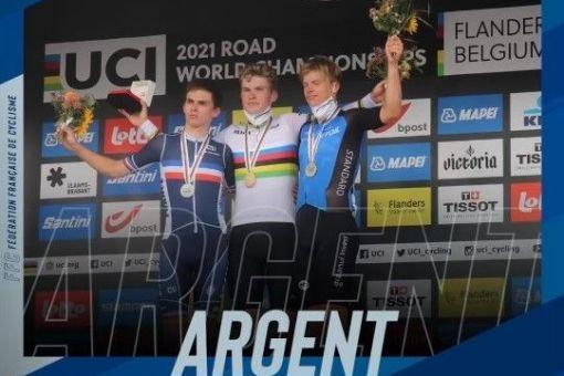 Romain Grégoire, vice-champion du Monde à Louvain !