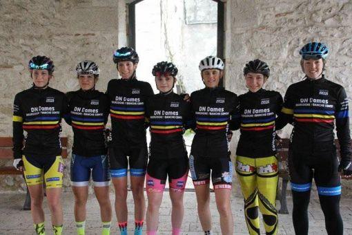 Collectif féminin Bourgogne Franche-Comté Route 2019