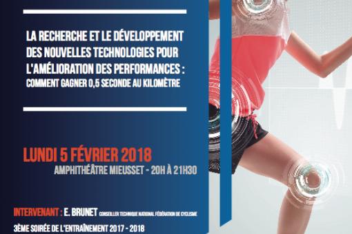 Soirée de l'entrainement à l'UFR STAPS de Dijon