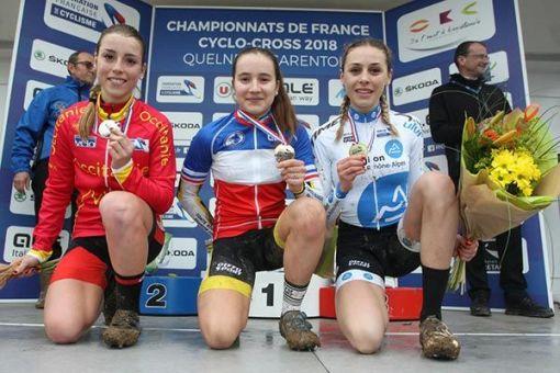 Championnats de France : 3 médailles !