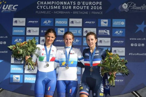 Championnats d'Europe CLM juniors : Juliette Labous médaillée de bronze