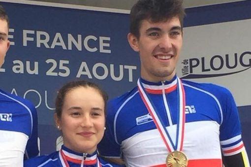 Championnats de France de l'Avenir : 4 médailles !