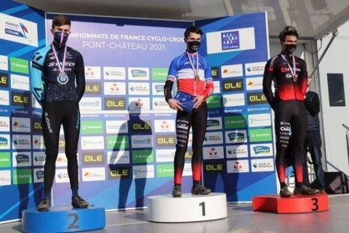 Championnats de France de cyclo-cross : 2 médailles !