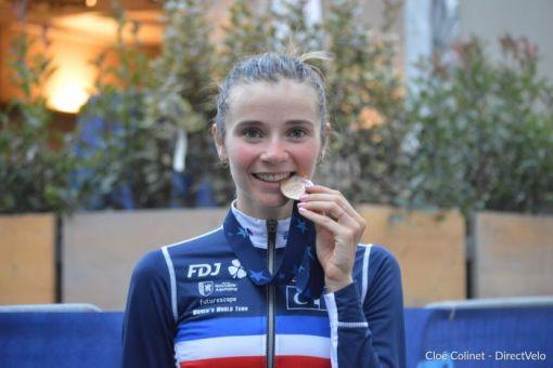 Championnats d'Europe : Évita Muzic médaillée de bronze !