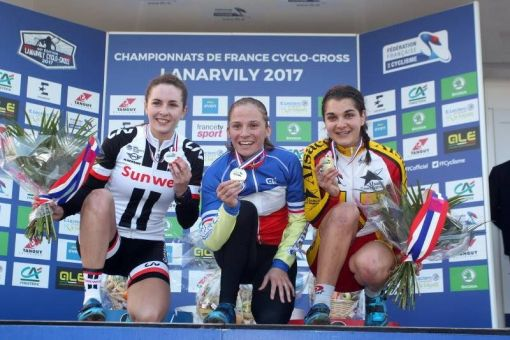 Championnats de France Cyclo-cross : 4 médailles !