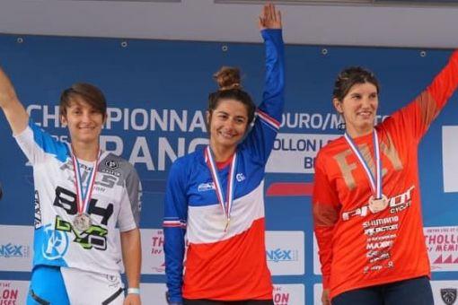 Mélanie Pugin, vice-championne de France Enduro !