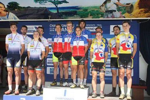 Championnats de France VTT : 3 médailles
