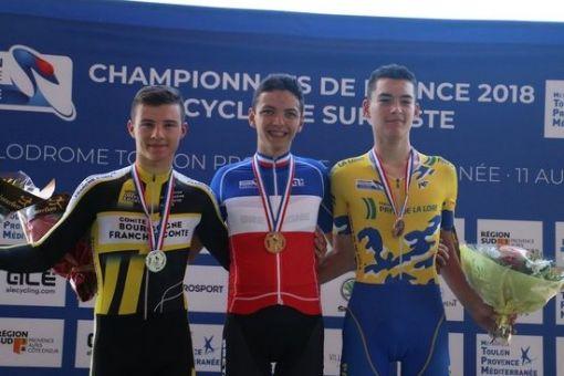 Championnats de France sur Piste à Hyères : 6 médailles !