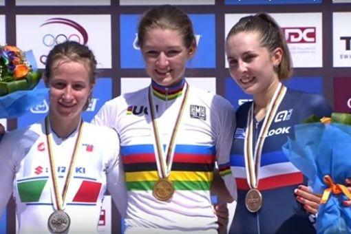 Juliette Labous médaillée de bronze mondiale !