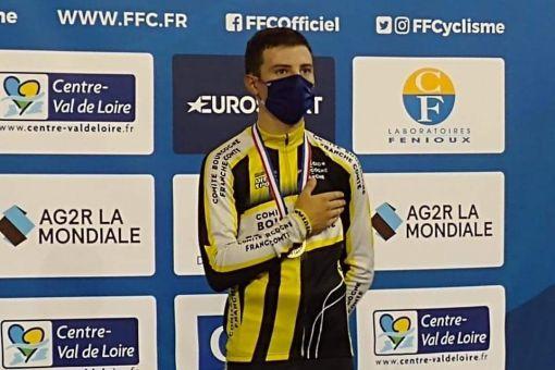 Championnat de France piste : Pierre Gautherat en Bronze !