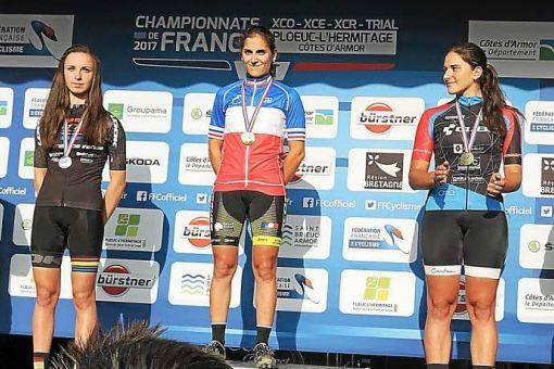 Championnats de France VTT : 2 médailles de Bronze