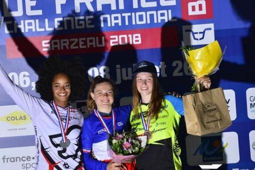 Championntas de France BMX : 1 médaille de Bronze !