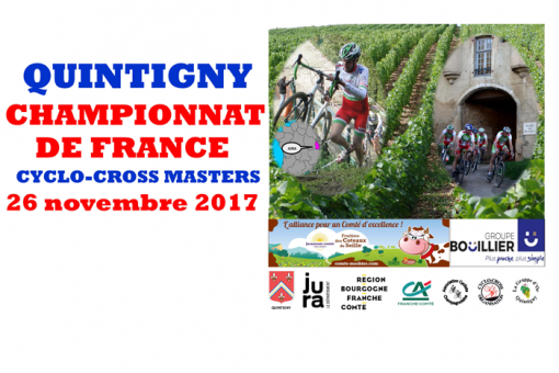 Championnats de France cyclo-cross Master à Quintigny (39)