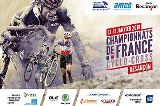 CHAMPIONNATS DE FRANCE CYCLO CROSS - Besançon - 12 et 13 janvier 2019