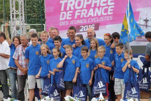 Trophée de France des jeunes cyclistes 2016