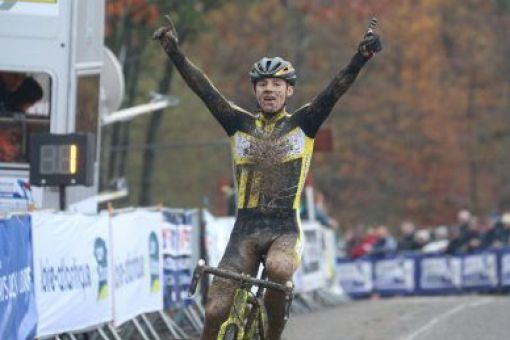 Coupe de France de cyclo-cross : 2 victoires, 2 podiums