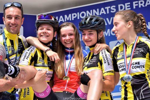 Séléctions Championnat de France de l'avenir Route