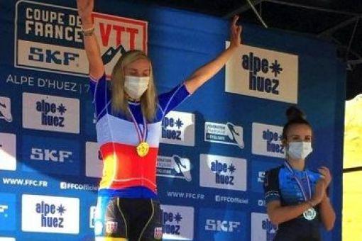 Championnat de France VTT XCE : Manon Wimmer en Or !