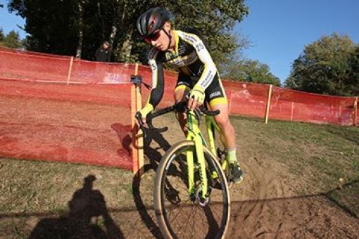 Coupe de France de cyclo-cross : 2 victoires et 3 podiums