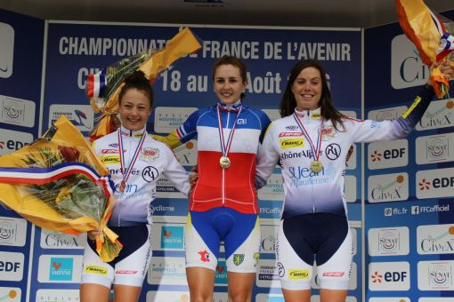Championnats de France de l'Avenir : Juliette Labous double championne de France !