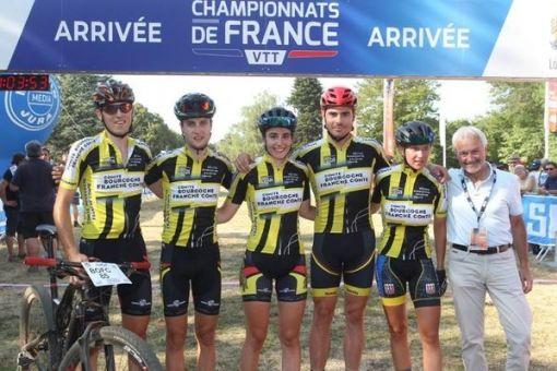 Championnats de France VTT : 2 médailles d'Or, 4 médailles de Bronze !