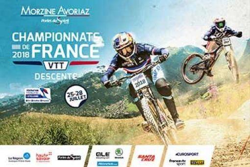 Inscriptions Championnat de France DH - Morzine du 25 au 28 juillet