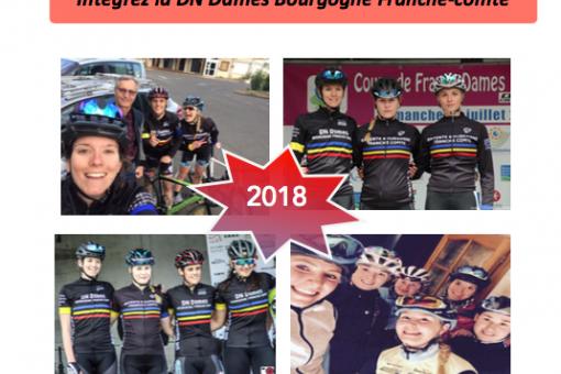 Candidatures DN Dames Bourgogne Franche-Comté